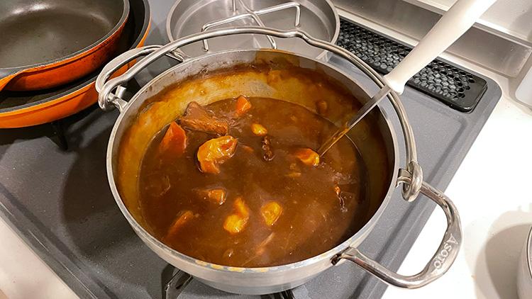 SOTOステンレスダッチオーブン料理をそのまま保存