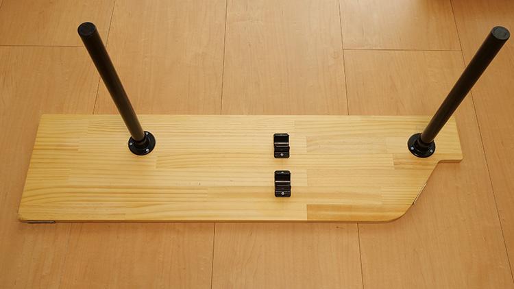 ジムニーJB23リアサイドテーブル最終完成イメージ