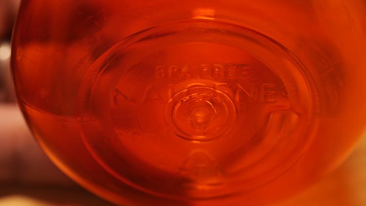 ナルゲンボトル底面のBPA FREE